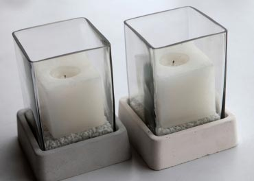Cancon Candle Holder